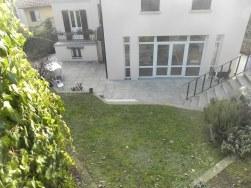 Veduta del giardino