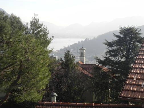 Veduta del lago
